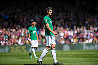 LONDON, ENGLAND - MAY 13: West Bromwich Albion (26) Ahmed Hegazi during the Premier League match between Crystal Palace and West Bromwich Albion at Selhurst Park on May 13, 2018 in London, England. MB Media