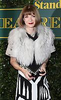 Anna Wintour, London Evening Standard Theatre Awards, Theatre Royal Drury Lane, London UK, 03 December 2017, Photo by Richard Goldschmidt