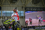 #87 (WHYTE Kye) GBR wins Round 2 of the 2019 UCI BMX Supercross World Cup in Manchester, Great Britain