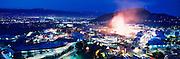 Mock Explosions at Universal Studios.