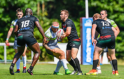 West Wales Raiders v London Skolars<br /> <br /> Photographer Craig Thomas/Replay Images<br /> <br /> Betfred League 1 - West Wales Raiders v London Skolars  - Saturday 30rd June 2018 - Stebonheath Park - Llanelli<br /> <br /> World Copyright © 2017 Replay Images. All rights reserved. info@replayimages.co.uk - www.replayimages.co.uk