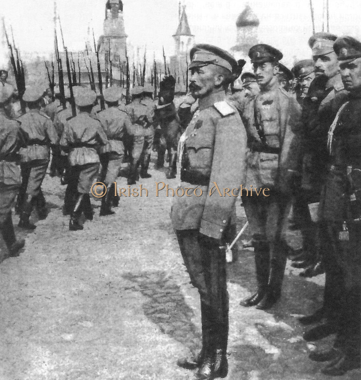 Lavr Kornilov 1870–1918 Russian army general during World War I and the ensuing Russian Civil War. he is associated with the Kornilov Affair, an unsuccessful endeavour in August/September 1917 that purported to strengthen Alexander Kerensky's Provisional Government