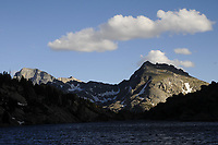 North Lake and Temple Peak, Wind River Mountains, Wyoming