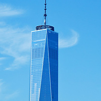 One World Trade Center in lower Manhattan New York City