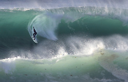 December 17, 2018 - San Diego, CA, USA - Big surf from a Pacific storm made big waves in San Diego on Monday throughout the day. (Credit Image: © John Gastaldo/ZUMA Wire)