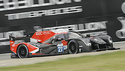 May 11, 2019 - Monza, MB, Italy - IDEC SPORT racing team (Lafargue, Maris and Adler) in the middle of fast Ascari chicane in Monza during Free Practice Session 2 of ELMS italian round. (Credit Image: © Riccardo Righetti/ZUMA Wire)