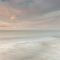 A lovely gentle sunrise at Walberswick on Saturday