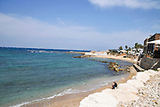 Sebastos Harbor of Caesarea, on the Mediterranea sea, Israel Built by Herod the great in the first century CE