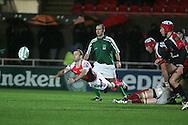 Heineken cup,round four, Scarlets v Ulster at Parc y Scarlets in Llanelli on Friday 12th December 2008.Gavin Cattle.