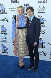 February 8, 2020, Los Angeles, California, United States: 2020 Film Independent Spirit Awards held at Santa Monica Pier..Featuring: Greta Gerwig and Noah Baumbach.Where: Los Angeles, California, United States.When: 08 Feb 2020.Credit: Faye's VisionCover Images (Credit Image: © Cover Images via ZUMA Press)