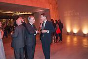 CHRISTOPHER JONAS; SIR NICHOLAS SEROTA, The Tanks at Tate Modern, opening. Tate Modern, Bankside, London, 16 July 2012