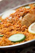 Chicken Machboos at Al Tawasol restaurant, United Arab Emirates