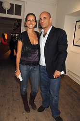 GUY & ANDREA DELLAL at a party to celebrate the opening of a new art gallery, 20 Hoxton Square, Hoxton Square, London on 27th April 2007.<br /><br />NON EXCLUSIVE - WORLD RIGHTS