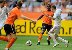 05-06-2010 VOETBAL: NEDERLAND - HONGARIJE: AMSTERDAM<br /> Nederland wint met 6-1 van Hongarije / Eljero Elia<br /> ©2010-WWW.FOTOHOOGENDOORN.NL