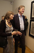 Lady Anne Carr and the Marquis of Worcester, Matthew Carr exhibition opening, Marlborough Fine Art, 25 November 2003. © Copyright Photograph by Dafydd Jones 66 Stockwell Park Rd. London SW9 0DA Tel 020 7733 0108 www.dafjones.com