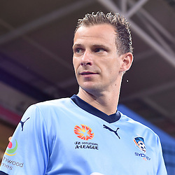 BRISBANE, AUSTRALIA - FEBRUARY 3: Alex Wilkinson of Sydney walks out during the round 18 Hyundai A-League match between the Brisbane Roar and Sydney FC at Suncorp Stadium on February 3, 2017 in Brisbane, Australia. (Photo by Patrick Kearney/Brisbane Roar)