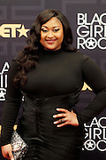 April 1, 2016- Newark, NJ: United States- Recording Artist Justine Skye attends the 2016 Black Girls Rock Red Carpet Arrivals held at NJPAC on April 1, 2016 in Newark, New Jersey. Black Girls Rock! is an annual award show, founded by DJ Beverly Bond, that honors and promotes women of color in different fields involving music, entertainment, medicine, entrepreneurship and visionary aspects.   (Terrence Jennings/terrencejennings.com)