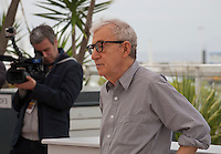 Director Woody Allen<br /> at the Café Society film photo call at the 69th Cannes Film Festival Wednesday 11th May 2016, Cannes, France. Photography: Doreen Kennedy