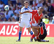 Siaosi Tu'atoa, Tonga during the IRB Rugby Sevens tournament held at Adelaide Oval,Adelaide, South Australia,Saturday, April 5, 2008.<br /> Photo;Michael Oakes/SMP<br /> Conditions of Use: This image is intended for editorial use only (EG: news or commentary, print or electronic).  Any commercial or promotional use requires additional clearance.  Please contact for details.