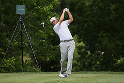 May 25, 2019 - Fort Worth, TX, U.S. - FORT WORTH, TX - MAY 25: Ryan Palmer hits from the 6th tee during the third round of the Charles Schwab Challenge on May 25, 2019 at Colonial Country Club in Fort Worth, TX. (Photo by George Walker/Icon Sportswire) (Credit Image: © George Walker/Icon SMI via ZUMA Press)