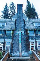 Lake Quinault Lodge. Lake Quinault. Olympic National Park.