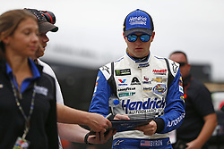 October 5, 2018 - Dover, Delaware, United States of America - William Byron (24) hangs out in the garage during practice for the Gander Outdoors 400 at Dover International Speedway in Dover, Delaware. (Credit Image: © Justin R. Noe Asp Inc/ASP via ZUMA Wire)