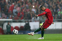 June 7, 2018 - Lisbon, Portugal - Portugal's forward Cristiano Ronaldo in action during the FIFA World Cup Russia 2018 preparation football match Portugal vs Algeria, at the Luz stadium in Lisbon, Portugal, on June 7, 2018. (Portugal won 3-0) (Credit Image: © Pedro Fiuza/NurPhoto via ZUMA Press)