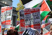 Israel v Wales Football Protest