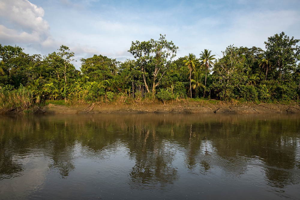 The Keram River in the village of Yar, located in East Sepik Province, Papua New Guinea.<br /> <br /> (June 21, 2019)