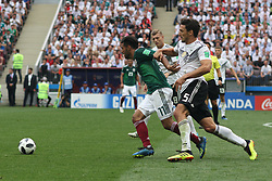 June 17, 2018 - Moscow, Russia - June 17, 2018, Russia, Moscow, FIFA World Cup, First round, Group F, Germany vs Mexico at the Luzhniki stadium. Player of the national team (Credit Image: © Russian Look via ZUMA Wire)