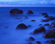 Blue Mist, Long Island Sound, New York, East Marion, Rocky Point, North Fork, Connecticut