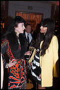 WENDY BEVAN; JAMEELA JAMIL, Veuve Clicquot 2014 Business Woman of the Year Awards . Claridge's. LONDON. 12 May 2014.