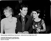 Winona Ryder, Gabriel Byrne, Clare Danes.  Vanity Fair Oscar Night Party. 1997<br /> Photograph by Dafydd Jones<br /> 66 Stockwell Park Rd. London SW9 0DA<br /> Tel 0171 733 0108
