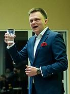 Spotkanie wyborcze Szymona Hołowni w Białymstoku