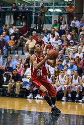 23 June 2007:  Justin Bocot a Bloomington High School grad and Southern Illinois Saluki recruit. The Illinois Basketball Coaches Association All-Star game is played in the Shirk Center on the campus of Illinois Wesleyan University in Bloomington Illinois.