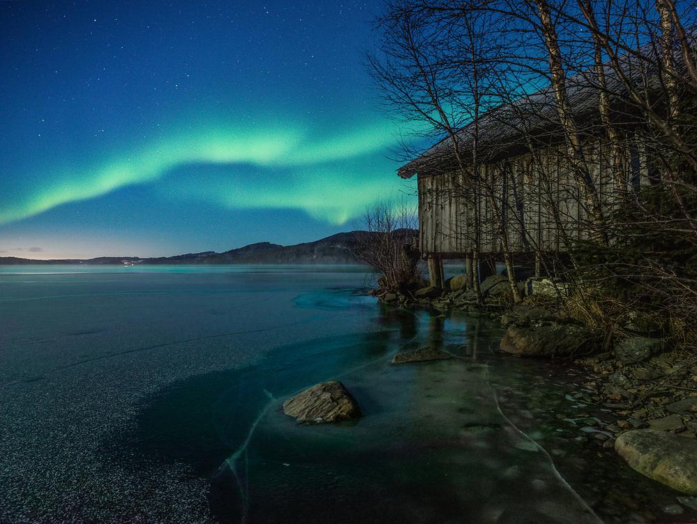 Trondheim, Norway. January 2021.