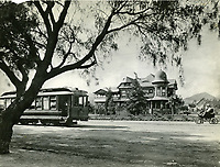 1900 Hollywood Blvd. & Wilcox Ave. E.C. Hurd's house in background