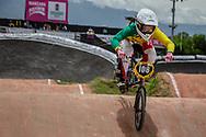 #108 (SAKAKIBARA Saya) AUS at the 2016 UCI BMX World Championships in Medellin, Colombia.
