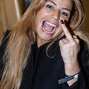NLD/Amsterdam/20131113 - VIP avond bij Isabel Marant pour H&M, Olcay Gulsen