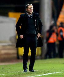Port Vale manager Michael Brown - Mandatory by-line: Robbie Stephenson/JMP - 20/01/2017 - FOOTBALL - Vale Park - Stoke-on-Trent, England - Port Vale v Bury - Sky Bet League One