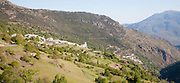 River Poqueira Gorge villages of Bubion and Pampaneira, High Alpujarras, Sierra Nevada, Granada province, Spain