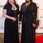 NLD/Amsterdam/20130923 - Grazia Red Carpet Awards 2013, Ingrid Simons en vriendin