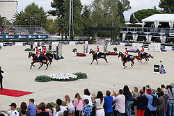Team USA<br /> Beezie Madden, Reed Kessler, Lucy Davis, Katie Dinan, MvLain Ward.<br /> Winners Team consolation competition<br /> Furusiyya FEI Nations Cup Jumping Final<br /> CSIO Barcelona 2013<br /> © Dirk Caremans