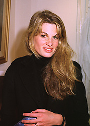 MRS JEMIMA KHAN wife of Pakistani politician Imran Khan and daughter of the Late Sir James Goldsmith, at an exhibition in London on 17th April 1998.MGC 26
