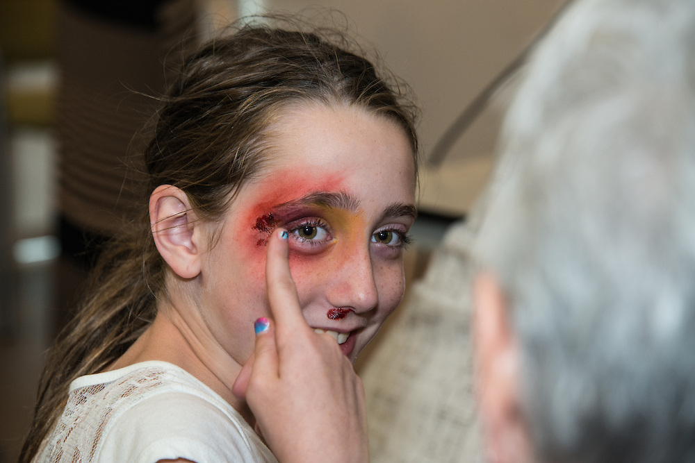 Special Effects and Movie Makeup Demonstration