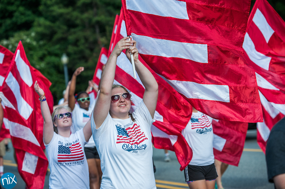 Scenes from the 2014 Harrisburg 4th of July Parade along Hwy 49 Friday morning.