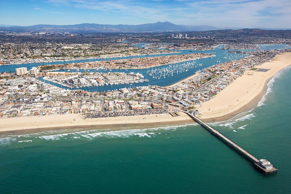 Aerial Stock Photos Of Newport Beach Pier