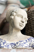 female bust ornament