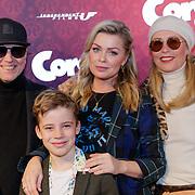 NLD/Amsterdam/20190210- première Corgi, Bridget Maasland met zoon Mees en  ouders ,Frits Maasland + Elly