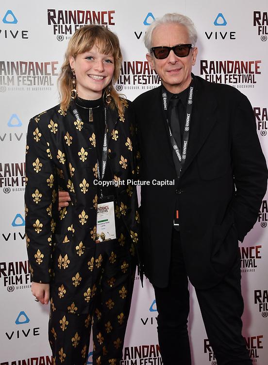 Chessie Lamb and Elliot Grove Nominated attends the Raindance Film Festival - VR Awards, London, UK. 6 October 2018.